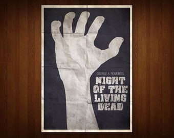 Night of the Living Dead Poster (Multiple Sizes)