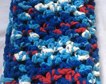 Limited time ONLY! Red White and Blue Baby Blanket