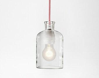 Red & White Pendant Lamp