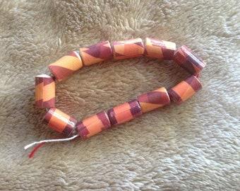 Paper Barrel Beads