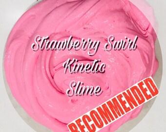 Strawberry Swirl Kinetic Slime