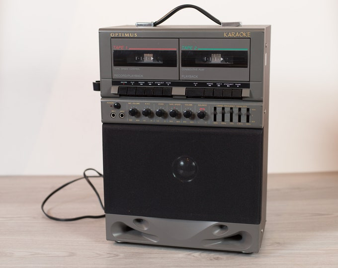 Karaoke Machine - Optimus Tape Playback and Recorder