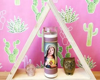 Saint Joan Didion // Women Author Prayer Candle