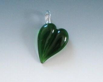 Lampwork HEART Pendant