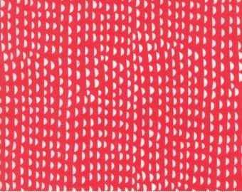 Ruffles Red Cotton Woven,  Just Another Walk in the Woods by Moda