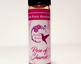 Rose of Sharon and Frankincense & Myrrh Anointing OIls