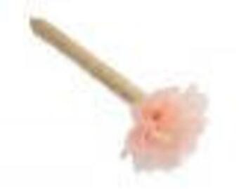 stylo pour livre d'or mariage fleur pêche- wedding guest book pen peachy flower
