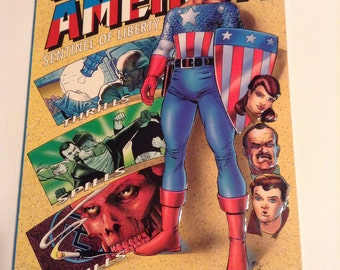 The Adventures of Captain America : Sentinel Of Liberty N/M 9.6