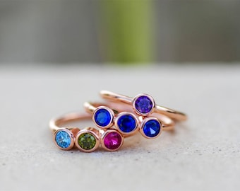 Mothers Birthstone Rings, Family Rings, Mothers Ring, Grandmothers Ring, Family Birthstone Rings, Grandma Rings, Mom Ring, Gifts for Mom