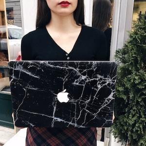 Macbook Pro 13 case, Macbook marble case, Macbook Pro 13 Retina case, Macbook Pro 13 Retina, Macbook Pro Retina case, Macbook black marble