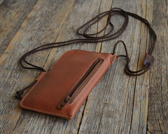 Lenovo K6 K5 K4 C2 P2 Note Power VIBE A Plus 6600 Zuk Edge S1 Lite X3 Case Leather Bag Wallet Zippers Pockets Purse Neck Strap Cover Sleeve