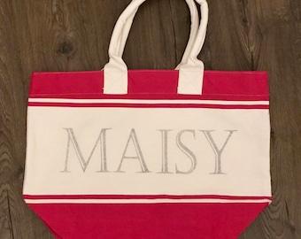 Personalised Canvas Beach Bag!