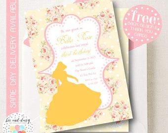 Belle invitation etsy filmwisefo