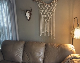 Twisted Tree Root Macrame Wall Hanging