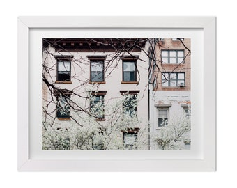 New York Print, NYC in the Spring, NYC Landscape Photography, New York Wall Art, Neutral Home Decor, NYC Print, Large Wall Decor
