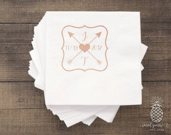 Boho Wedding Napkins