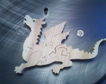 Wooden Dragon Possie Puzzle