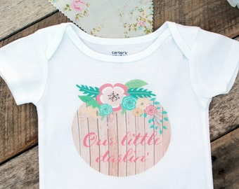 NEW Our Little Darlin' Onesies®, Southern Onesie, Baby Girl Clothes, Graphic Onesie, Baby Girl Onesie, Cute Baby Clothes, Baby Singlet