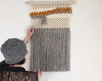 Macrame Wall Hanging - Yarn Weave