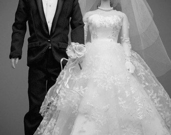 Wedding Couple Barbie Fine Art Photograph