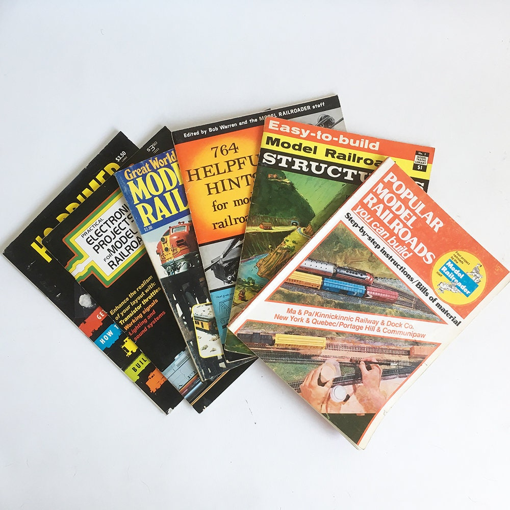 Wiring A Model Train Layout Book Electrical Diagrams Railroad Layouts Bundle Of 6 Vintage Books How To Set