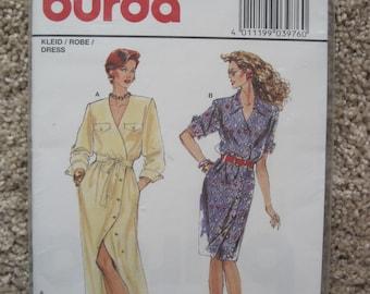 UNCUT Misses Dress - Burda Sewing Pattern 3976 - NEW