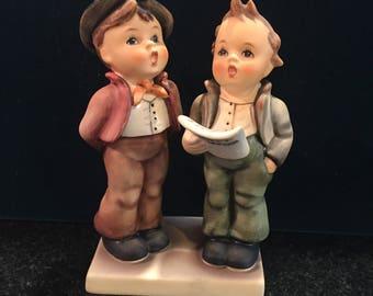 HUMMEL GOEBEL Figurine 130 TMK 5 Duet V703