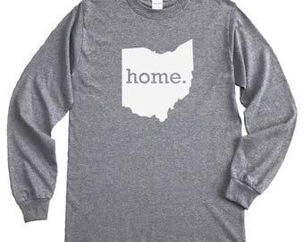 Homeland Tees Ohio Home Long Sleeve Shirt