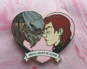 You'll Never Be Alone Enamel Pin
