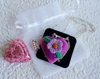Heart Pendant with chain NO. 6