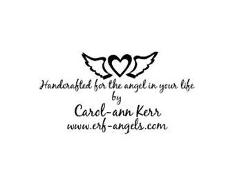 Herz mit Flügeln benutzerdefinierte Stempel