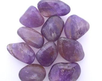 Ametrine large tumblestone crystal, one piece