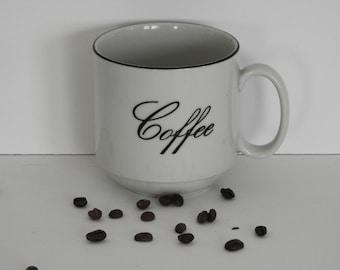 Vintage Typography Coffee Mug