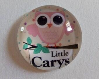 """pretty OWL rose """"little carys"""" 20mm"""