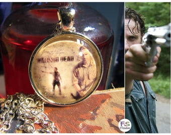 Necklace cabochon The Walking Dead