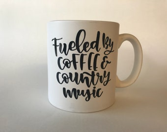 Fueled by Coffee and Country Music