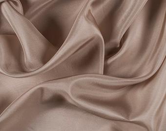 "45"" Wide 100% Silk Habotai Bronze-Wholesale by the Yard (2000M178)"