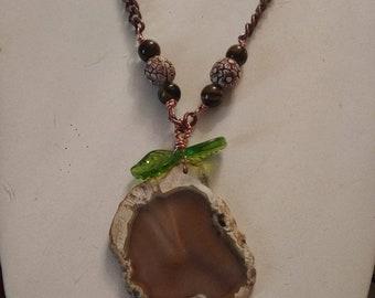 Copper Orange necklace