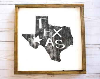 Distressed Texas|Wood Sign