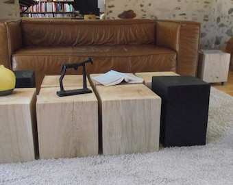 8 wood coffee table