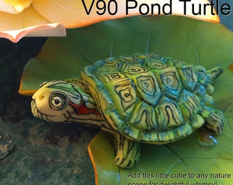 Pond Turtle Silicone Mold by Scott Clark Woolley