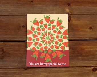 Berry Special Greeting Card