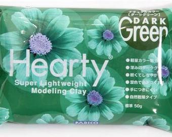 45069 dark green Hearty clay super lightweight from Japan