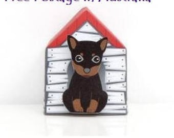 Cute 'Puppy House-It'  Post-It Sticky Notes