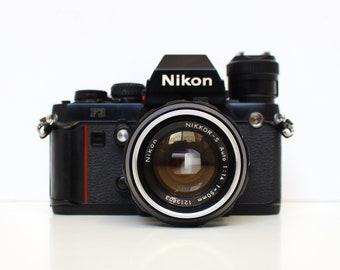 NIKON F3 Professional 35mm SLR [Kit] with NIKKOR-S 50mm f/1.4 Lens