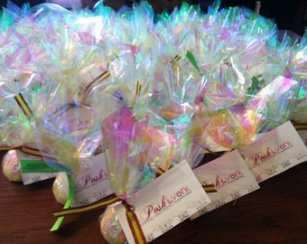 Custom Made to Order Mini Bath Bombs  Great for showers, wedding favors etc.