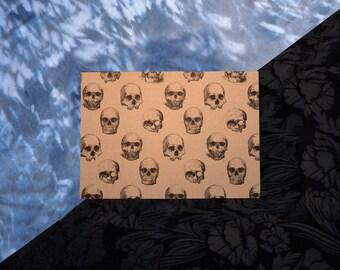 Skull Pattern - A6 Postcard Print
