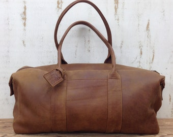 SALE! Women's leather duffle bag Travel Duffle bag Women leather overnight weekend bag leather Extra large bag for woman