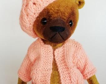 artist teddybear,softtoys,handmade teddybearsforsale, plush toy,handmade stuffed teddybear,LinDDolls, kuscheltier,ooak,мишка,
