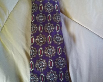 Christian Dior tie purple beautiful monsieur